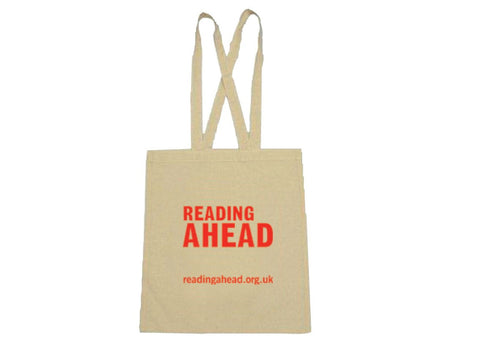 Reading Ahead cloth bag
