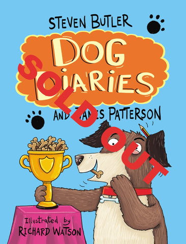 Dog Diaries POS pack and competition