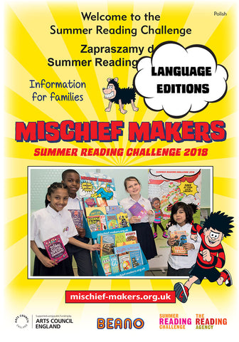 Summer Reading Challenge 2018 - French Family Leaflet