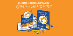 Giraffes Can't Dance - Activity Pack (only 15 left)