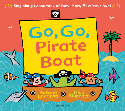 Go Go Pirate Boat - Storytime pack