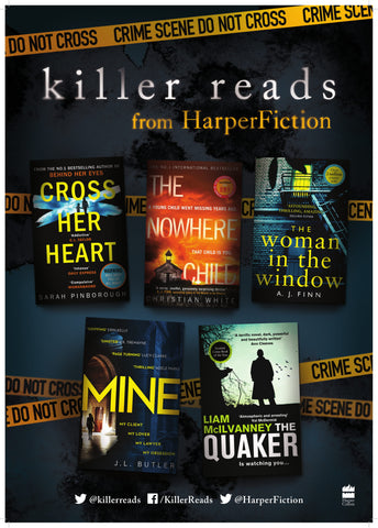 Killer Reads from HarperFiction Library Packs