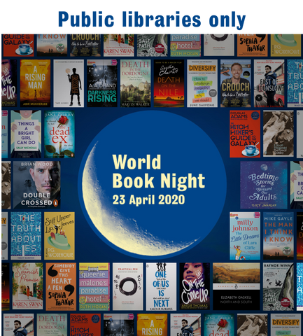 World Book Night 2020 - libraries