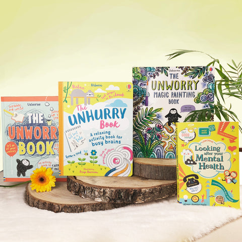 Celebrate Mental Health Awareness Month with the Usborne Unworry Pack (SOLD OUT)
