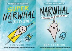 Narwhal and Jelly - activity pack
