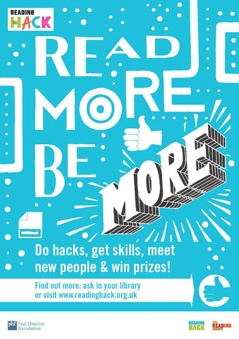Reading Hack - packs for young people and practitioners