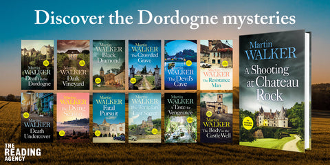 Martin Walker's The Dordogne Mysteries series digital pack, book giveaway and author visit competition