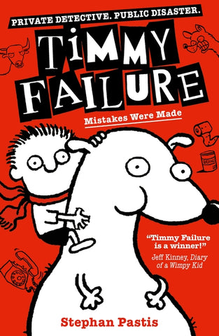 Timmy Failure - Detectives in Training packs