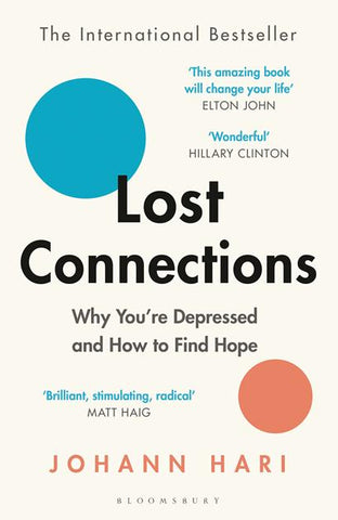 Lost Connections by Johann Hari Library Packs