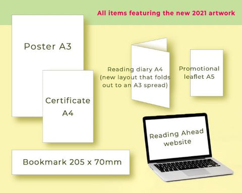 Reading Ahead 2021 DIGITAL PACKS