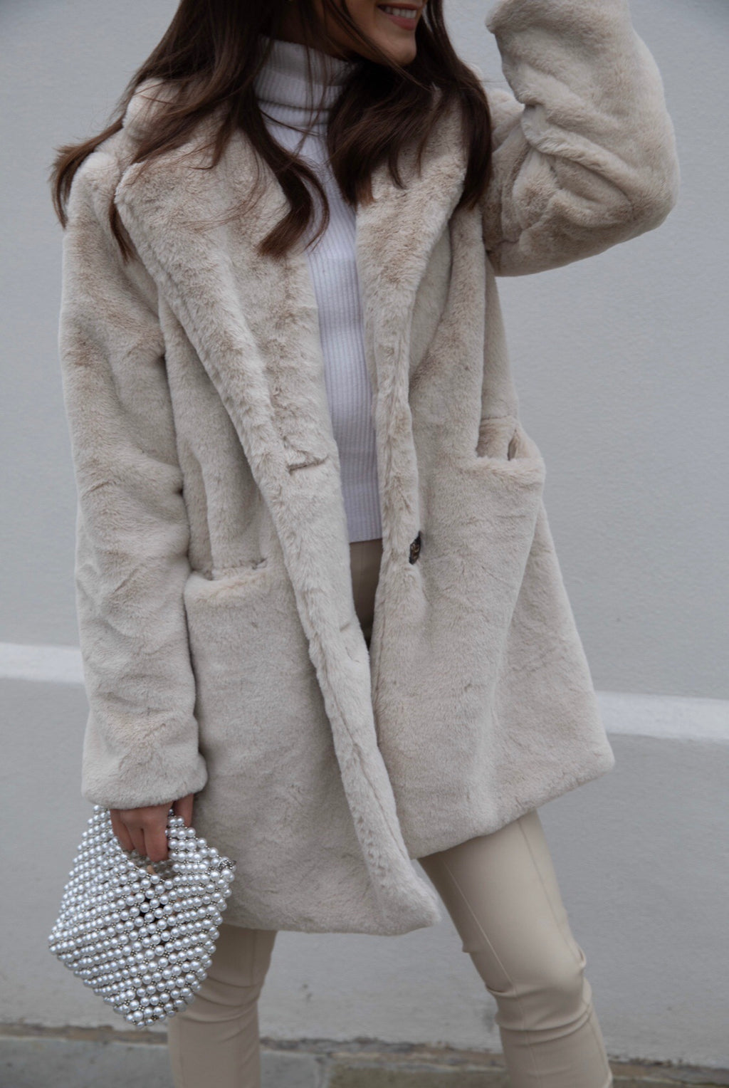 MiMi Faux Fur Coat