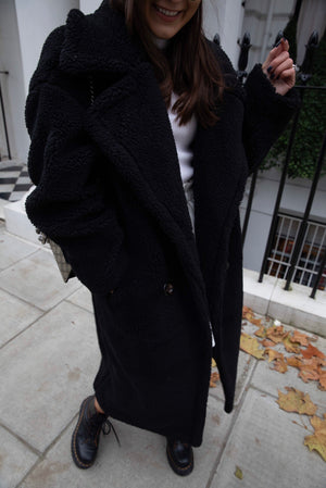 Cece oversized Teddy Coat
