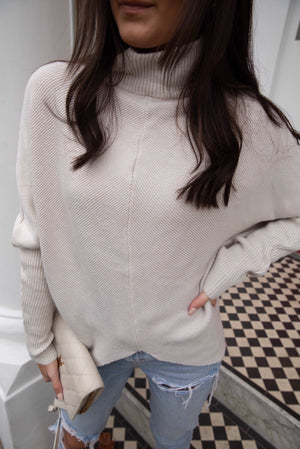 Nalia Soft ribbed Jumper