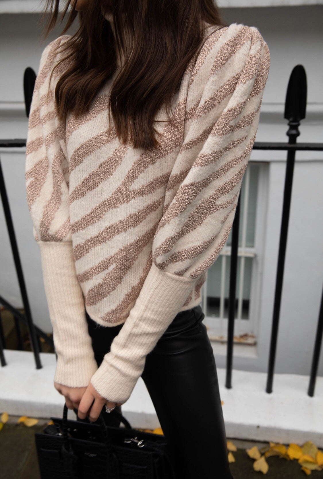 Siea patterned Jumper