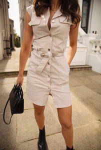 Hattie Utility Dress