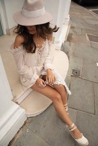 Hattie lace Playsuit