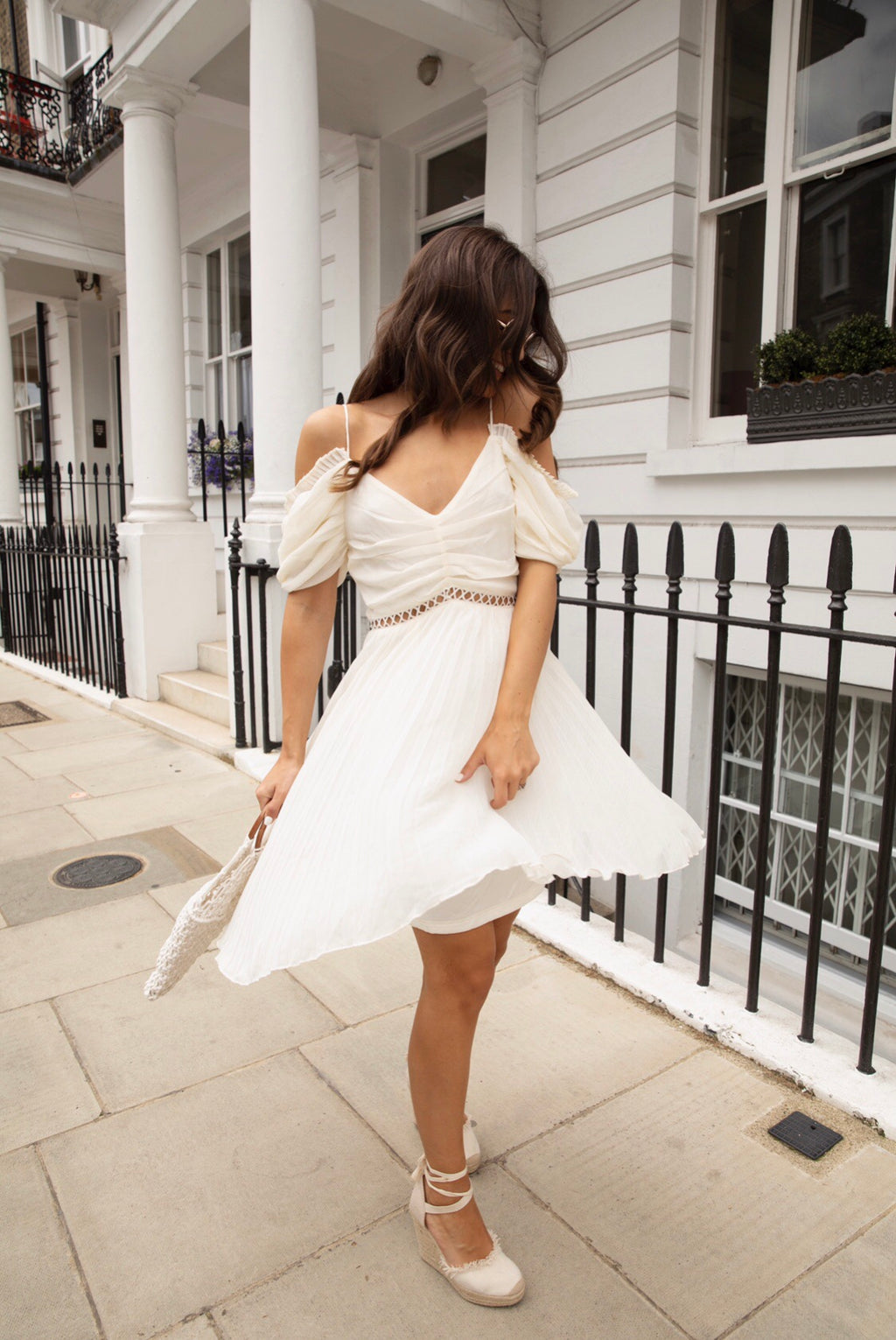 Melissa Pleated Dress