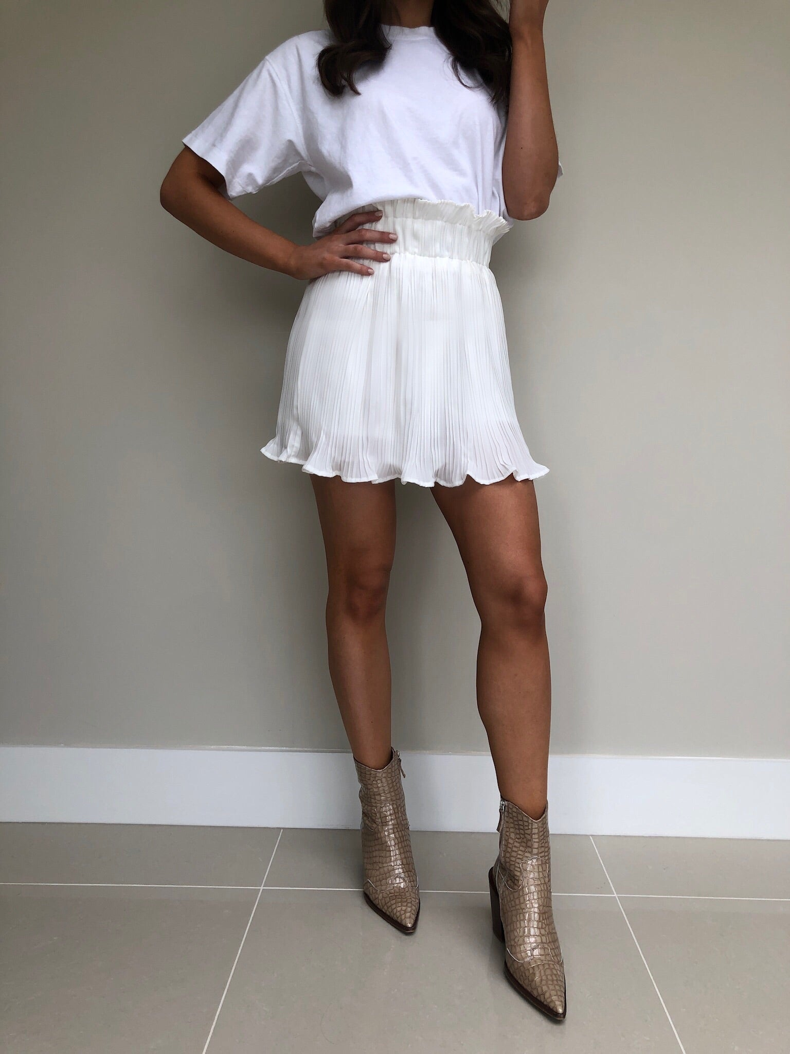 Kiana Pleated Mini Skort