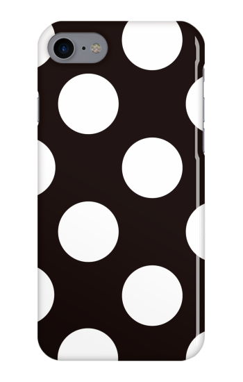 Largeドット [ ハードケース(光沢) for iPhone 8 ]