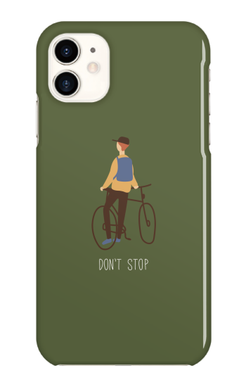 Dont stop [ ハードケース(光沢) for iPhone 11 ]