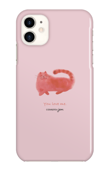 You Love Cat [ ハードケース(光沢) for iPhone 11 ]