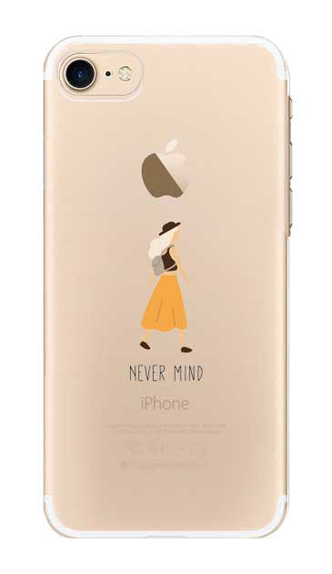 Never Mind [ クリアケース for iPhone 8 ]