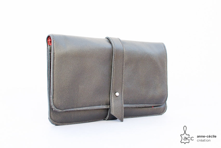 soft leather organizer