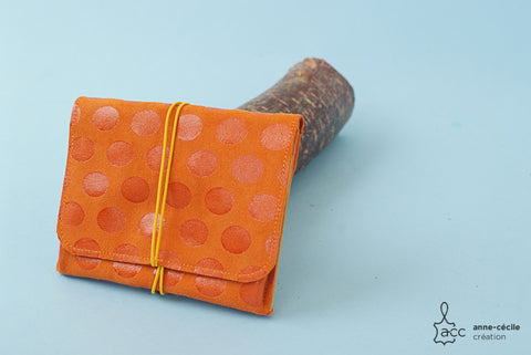orange womens purse