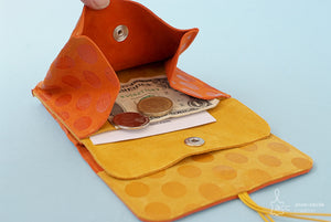 womens orange purse
