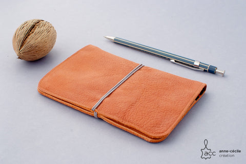 passport leather case