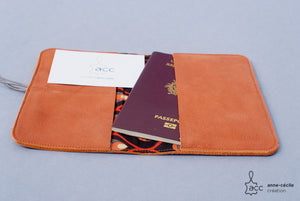 passport leather case women