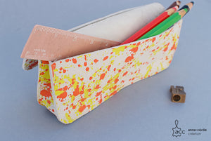 Trousse crayon en cuir fille - ProductImage-19546869366942