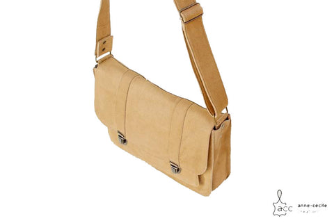natural leather men handbag