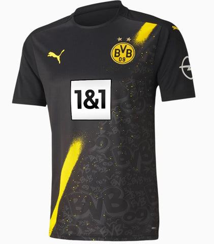 BVB Replica Men's Short-Sleeved Away Jersey