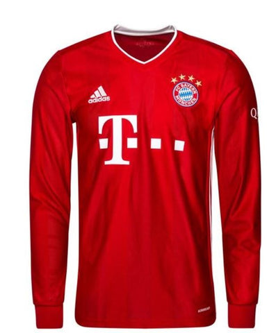 Image of FC Bayern München Home Shirt 2020/21 Long Sleeves