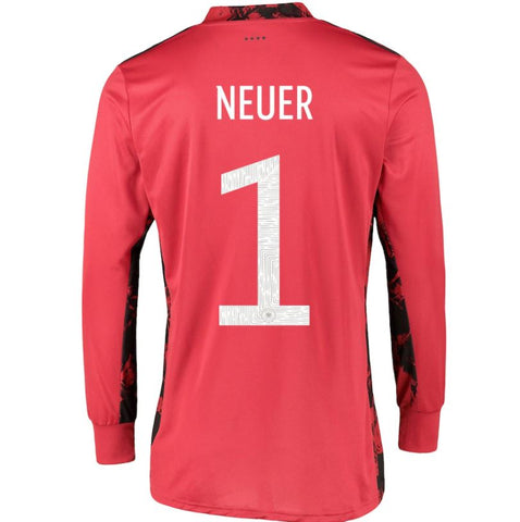 Image of Germany Goalkeeper Shirt with Neuer 1 printing