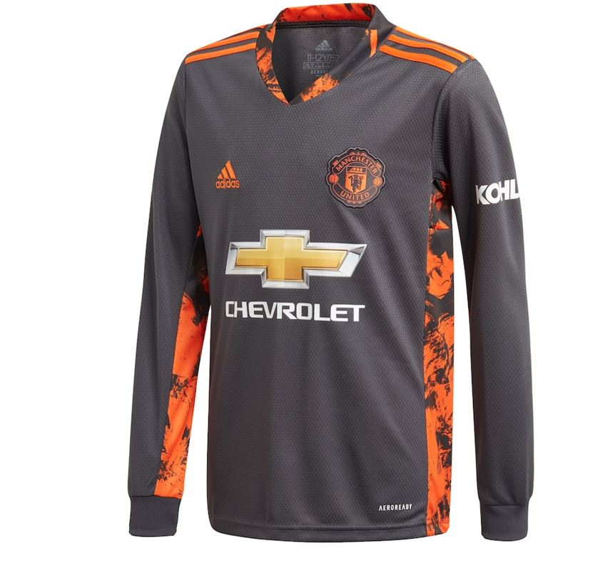 Manchester United  Home Goalkeeper Shirt Shirt 2020-21 with De Gea 1 printing