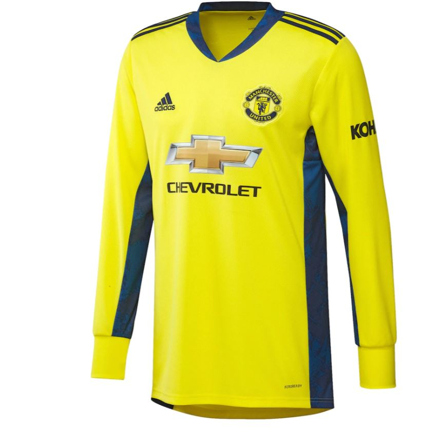 Manchester United Away Goalkeeper Shirt 2020-21 with Henderson 26 printing