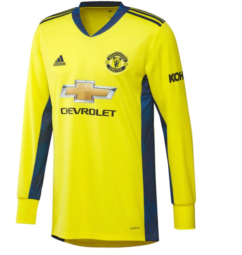 Manchester United Away Goalkeeper Shirt 2020-21 Kids