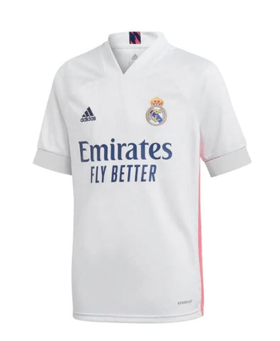 Real Madrid Home Shirt 2020/2021 White
