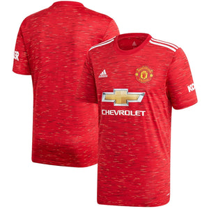 Manchester United Home Shirt 2020-21