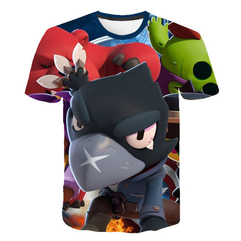 Image of Brawl Stars T-Thirt, Kids, 3D Print
