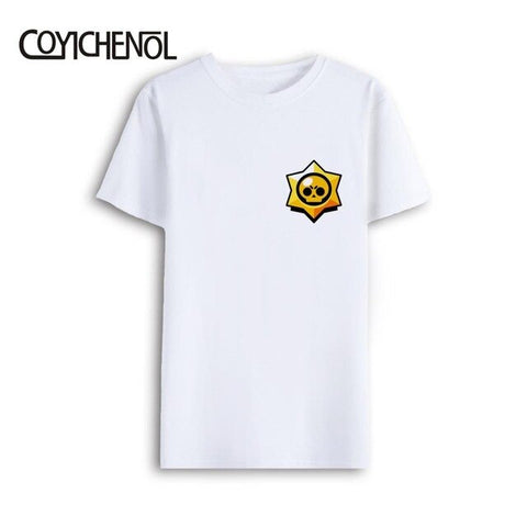 T-shirt men oversized brawl stars modal short sleeves