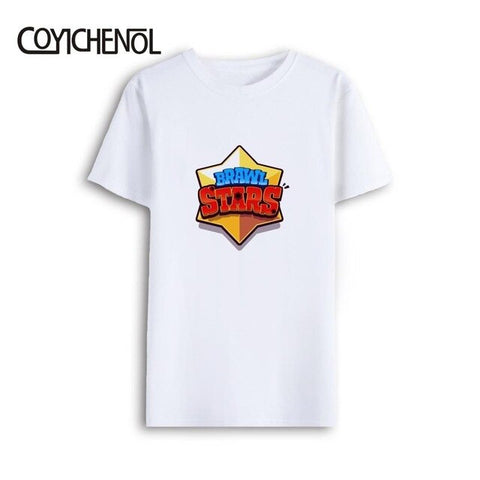 Image of T-shirt men oversized brawl stars modal short sleeves