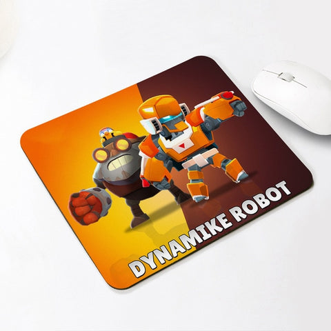 Brawl Stars Keyboard Desk Mat Spike Shelly Leon Mousepad Rubber Mouse Pad