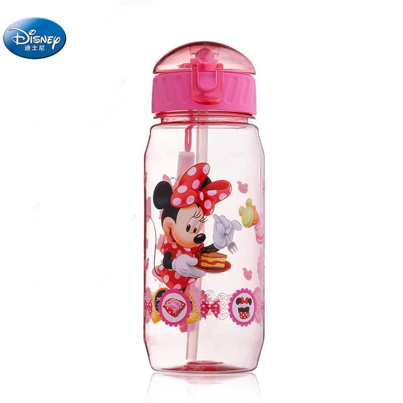 Mickey Minnie  Mouse water cups With straw boys