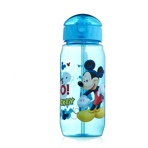 Image of Mickey Minnie  Mouse water cups With straw boys