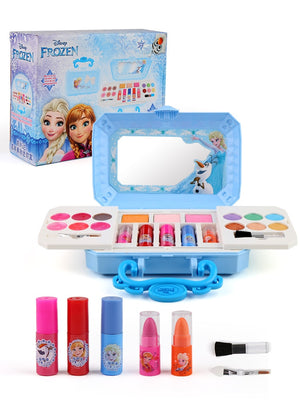 Disney girls frozen elsa anna Cosmetics Beauty  Set Toy kids Snow White princess Fashion Toys Play House Children Gift