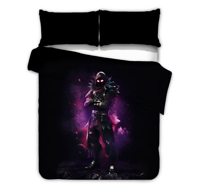 Fortnite Series Duvet Cover Pillowcase Game Figure Model Pattern Children Birthday Toys Gift