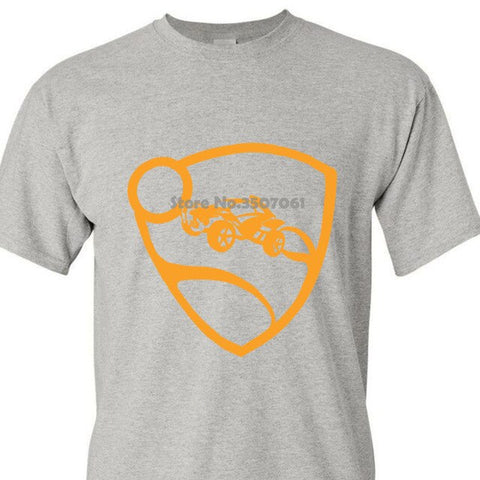 Round Collar Short Sleeve Rocket League Men's Orange Pro Glow Premium  Hoodies & Sweatshirts